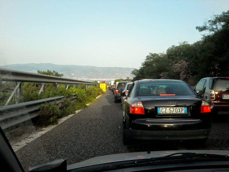 autostrade siciliane cas bomba pronta a esplodere