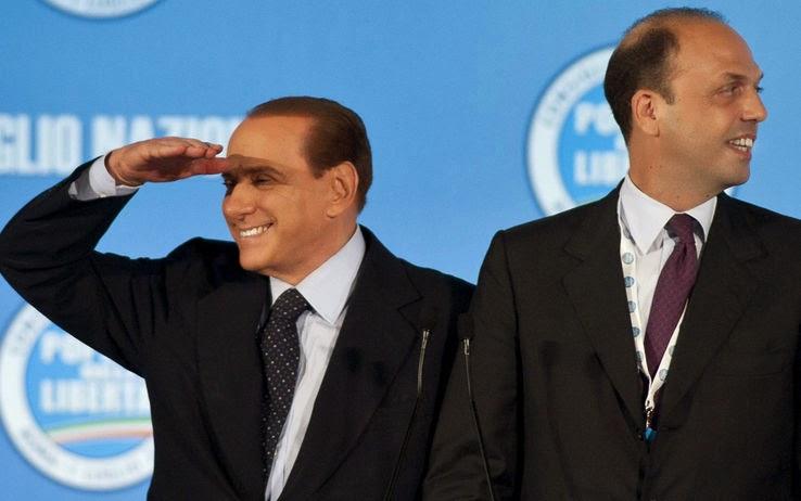 L 39 andata e ritorno di 15 parlamentari da forza italia a ncd for Parlamentari forza italia