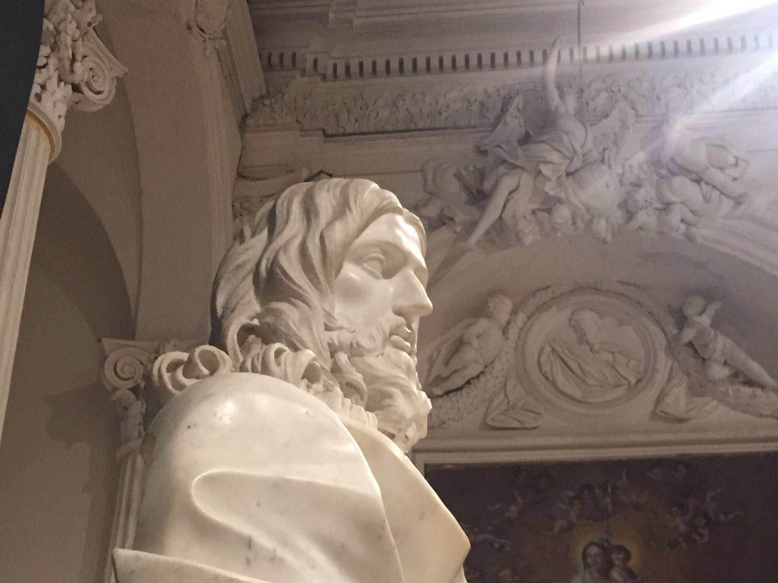 Lo Stile Di Bernini.Il Salvator Mundi Del Bernini Una Scultura Che Regala Forti