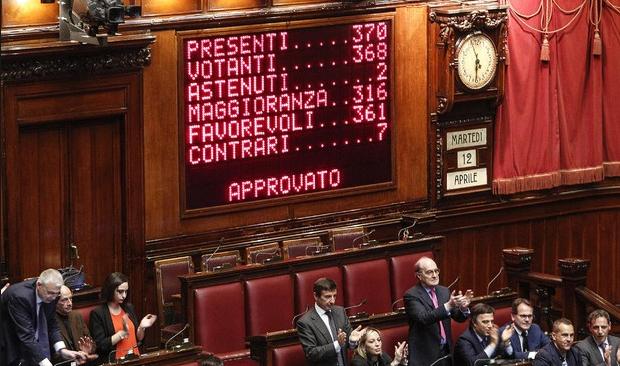 Parlamento rimangono circa 45 giorni di lavoro ius soli for Votazioni parlamento